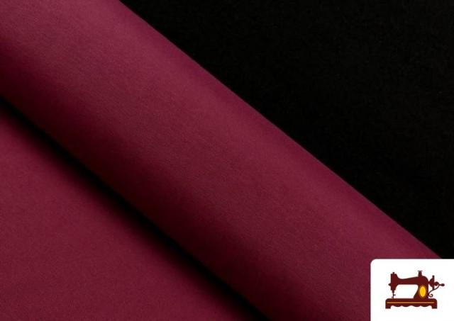 Vente de Tissu en Canvas de Couleurs couleur Grenat