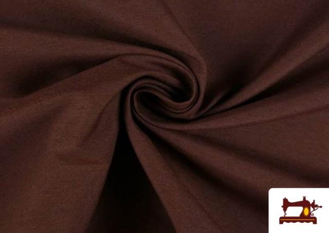 Acheter Tissu en Canvas de Couleurs couleur Brun