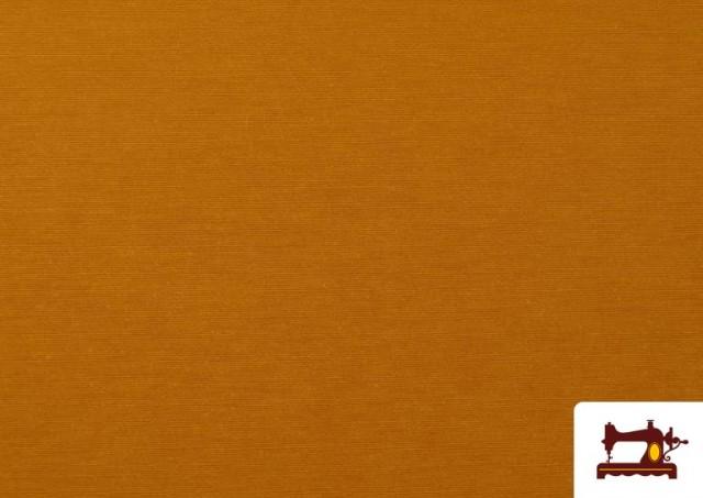 Tissu en Canvas de Couleurs couleur Moutarde