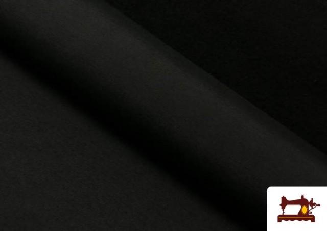 Acheter Tissu en Canvas de Couleurs couleur Noir