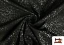 Acheter en ligne Tissu Style PuntRoma avec Imprimé Léopard Brillant couleur Gris clair