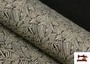 Tissu Style PuntRoma avec Imprimé Étincelles de Couleurs couleur Gris clair