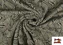 Acheter en ligne Tissu Style PuntRoma avec Imprimé Étincelles de Couleurs couleur Gris clair
