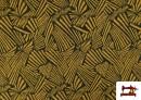 Acheter Tissu Style PuntRoma avec Imprimé Étincelles de Couleurs couleur Moutarde