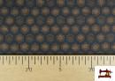 Vente en ligne de Tissu Style PuntRoma avec Hexagones de Couleurs couleur Bleu Marine