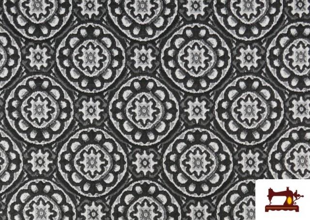 Acheter Tissu Style PuntRoma en Jacquard avec Imprimé Mandala