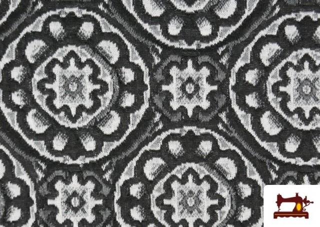 Vente en ligne de Tissu Style PuntRoma en Jacquard avec Imprimé Mandala