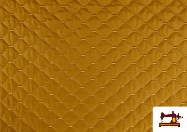Acheter Tissu avec Matelassage Réversible de Couleurs couleur Moutarde