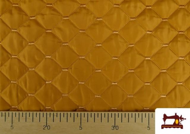 Vente en ligne de Tissu avec Matelassage Réversible de Couleurs couleur Moutarde