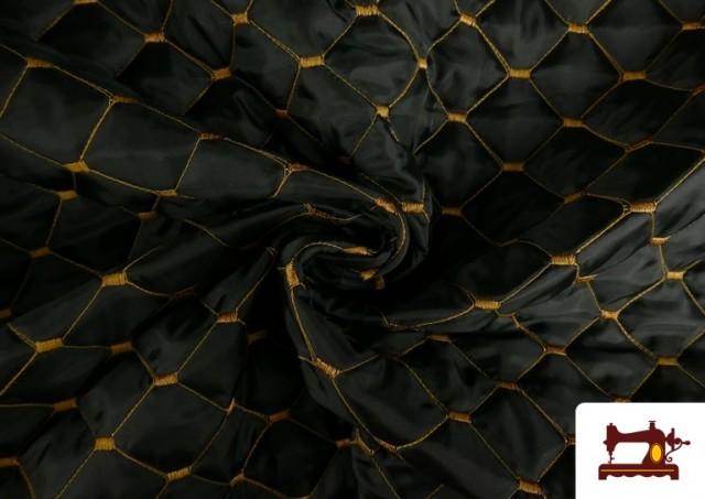 Tissu avec Matelassage Réversible de Couleurs
