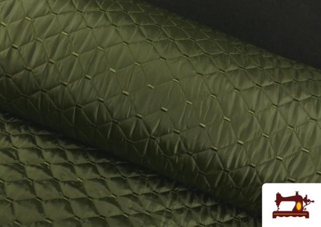 Acheter Tissu avec Matelassage Réversible de Couleurs couleur Kaki