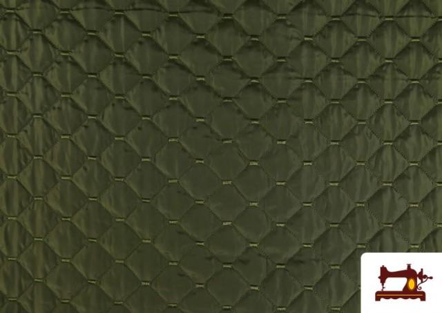 Vente de Tissu avec Matelassage Réversible de Couleurs couleur Kaki