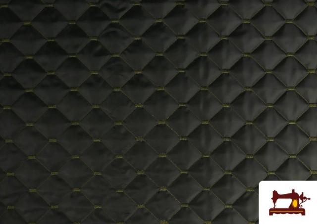 Acheter en ligne Tissu avec Matelassage Réversible de Couleurs couleur Kaki