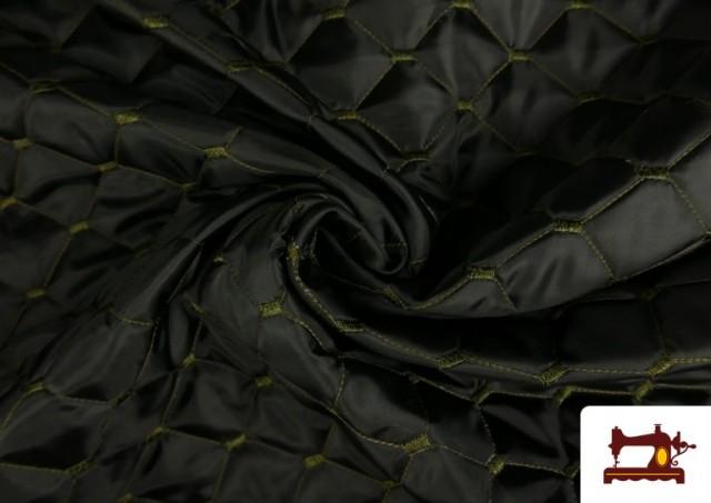 Vente en ligne de Tissu avec Matelassage Réversible de Couleurs couleur Kaki