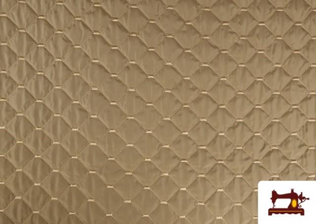 Acheter Tissu avec Matelassage Réversible de Couleurs couleur Beige