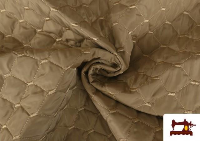 Acheter en ligne Tissu avec Matelassage Réversible de Couleurs couleur Beige