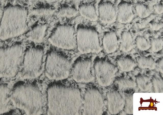 Vente de Tissu à Poil Doux Texture Animal Print