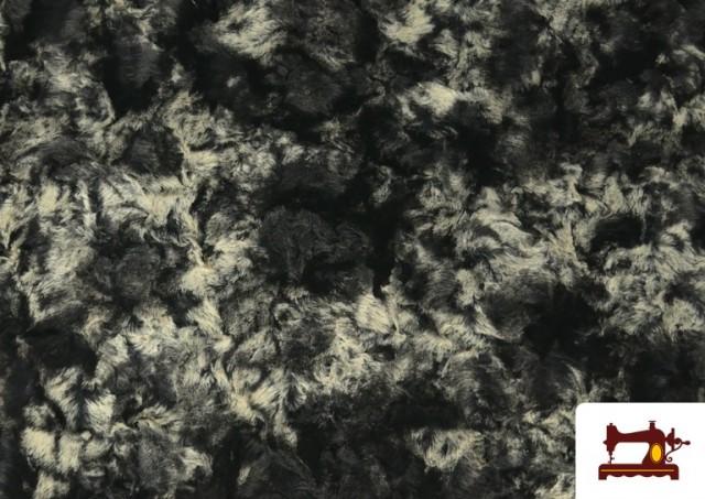 Tissu à Poil Doux pour Écharpes et Vêtements couleur Gris
