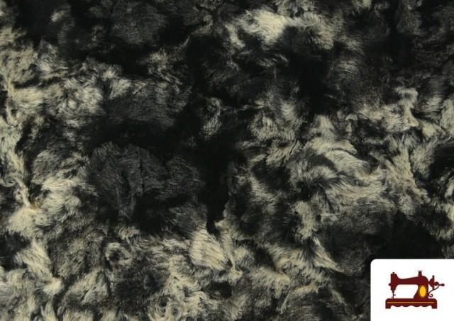 Vente de Tissu à Poil Doux pour Écharpes et Vêtements couleur Gris