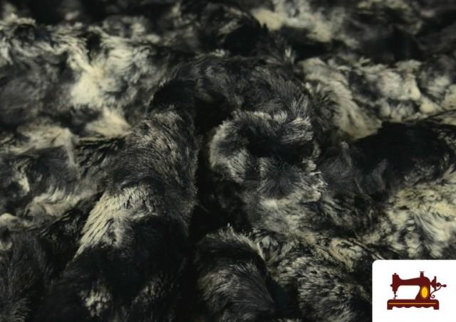 Vente en ligne de Tissu à Poil Doux pour Écharpes et Vêtements couleur Gris