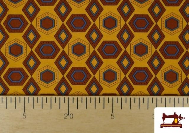 Vente de Tissu en Viscose avec Imprimé Africain