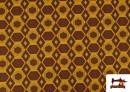 Acheter Tissu en Viscose avec Imprimé Africain