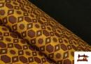 Tissu en Viscose avec Imprimé Africain