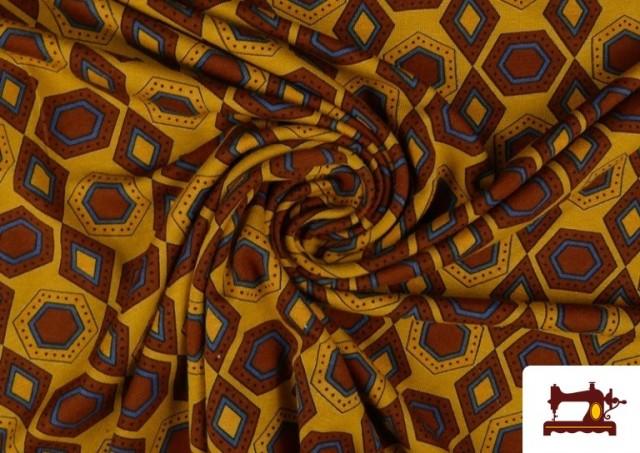 Vente en ligne de Tissu en Viscose avec Imprimé Africain