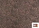 Acheter Tissu de Tee-Shirt avec Imprimé Léopard Rose