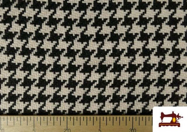 Acheter en ligne Tissu en Laine 100% avec Imprimé Pied-de-Poule