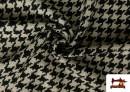 Vente en ligne de Tissu en Laine 100% avec Imprimé Pied-de-Poule