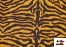 Acheter en ligne Tissu en Canvas Tigre Animal Print