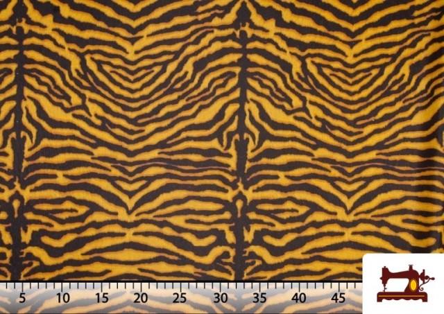 Tissu en Canvas Tigre Animal Print