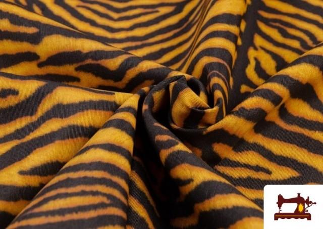 Acheter Tissu en Canvas Tigre Animal Print