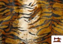 Acheter Tissu à Poil Cour Imprimé Tigre