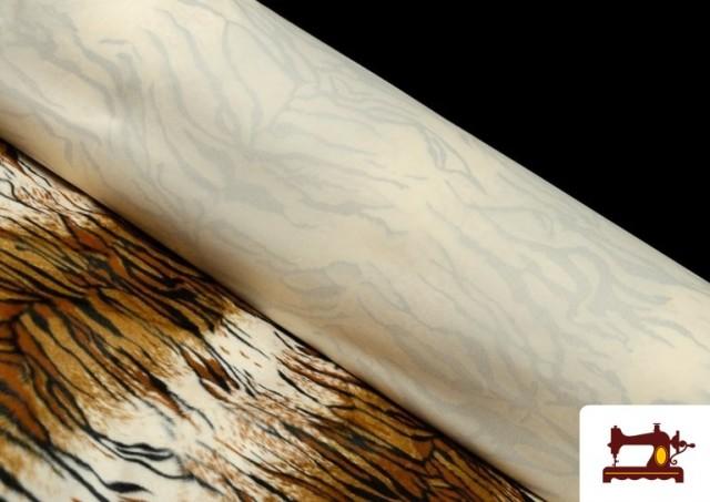 Vente en ligne de Tissu à Poil Cour Imprimé Tigre