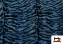 Acheter Tissu à Poil Fantaisie avec Imprimé Tigre