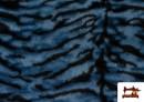 Acheter en ligne Tissu à Poil Fantaisie avec Imprimé Tigre