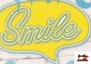 Vente en ligne de Tela Estampada con Graffitis en un Muro con Motivos de Felicidad