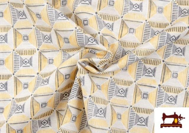 Vente en ligne de Tissu avec Dessin Géométrique Ethnique