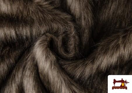 Acheter en ligne Tissu à Poil Long Rustique pour Costume Viking et Médiéval