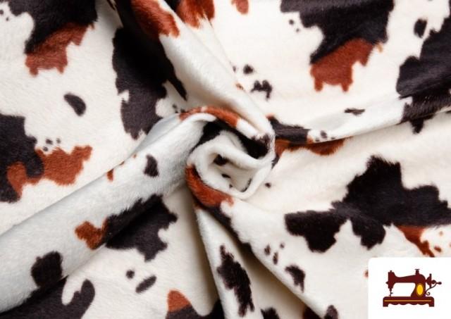 Vente en ligne de Tissu Imprimé Cheval - Poil Court