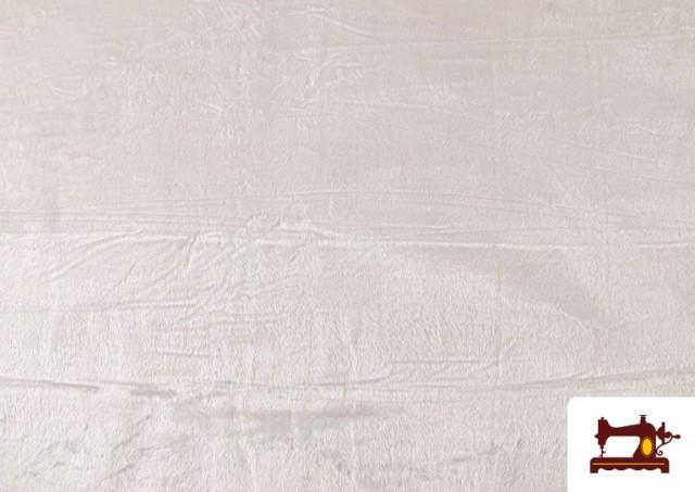 Acheter en ligne Tissu à Poil Court Blanc