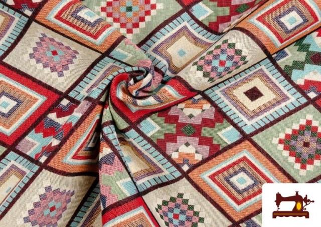 Vente en ligne de Tissu pour Tapisserie en Gobelin Géométrique