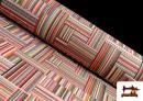Acheter Tissu pour Tapisserie en Gobelin Multicolore
