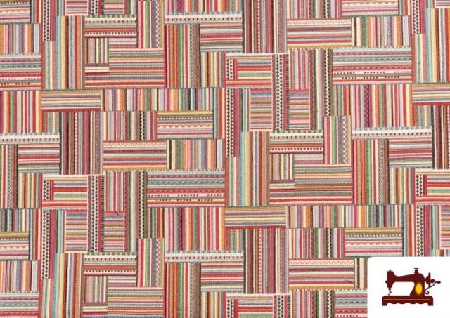 Vente de Tissu pour Tapisserie en Gobelin Multicolore