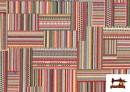 Acheter en ligne Tissu pour Tapisserie en Gobelin Multicolore