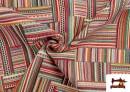 Vente en ligne de Tissu pour Tapisserie en Gobelin Multicolore