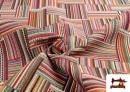 Tissu pour Tapisserie en Gobelin Multicolore