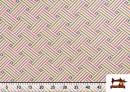Acheter Tissu Tissé Multicolore Ethnique en Gobelin